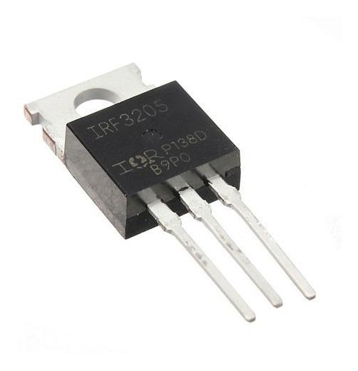Transistor Mosfet Irf3205 Kit 10 Unidades.