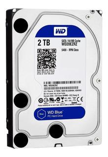 Wd Disco Duro Western Digital Blue 2tb Sata 6 Gb S 5400 R