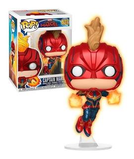 Funko Pop! Capitana Marvel 433 - Brilla En La Oscuridad