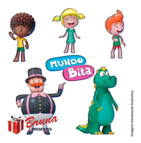 Mundo Bita Bonecos De Vinil - Líder Brinquedos