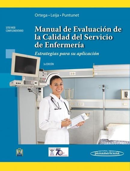 Manual De Evaluación De La Calidad Del Servicio De Enfermeri