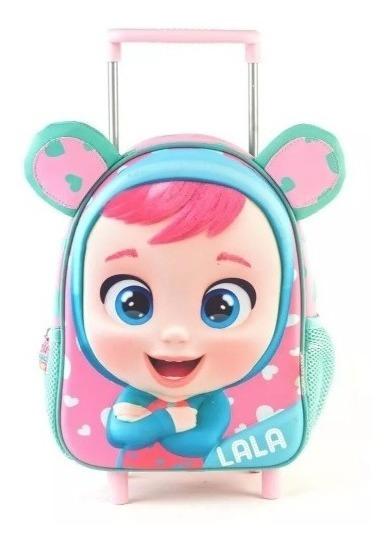 Mochila Cry Baby 3d Con Carro 12 Pulgadas 98303 Jardin