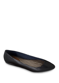 Zapatos Flat Ballerina Negro Dr Scholls Dama Piel Udt E50317