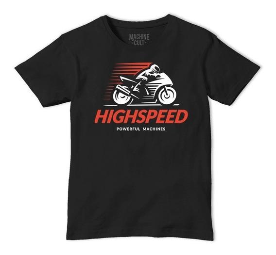 Camiseta Moto Speed