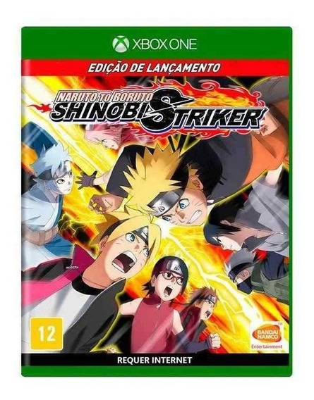 Naruto To Boruto Shinobi Striker Xbox One Mídia Física