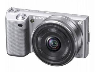 Camara Sony Nec-5n Super Buena Control Bolso Flash