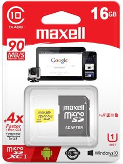 Tarjeta De Memoria Mcsd-16cl10 16gb C/ada Maxell
