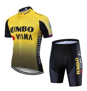 Conjunto Camisa Short Roupa Bike Mtb Speed Bicicleta Gggg