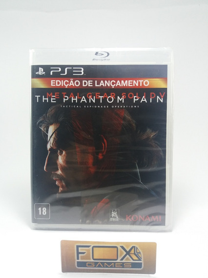 Ps3 Jogo Metal Gear Solid 5: The Panthom Pain