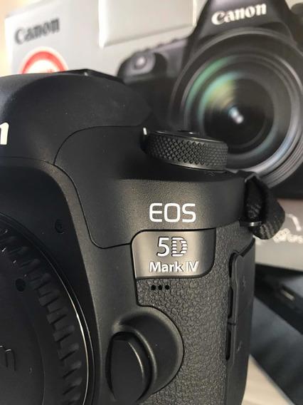 Câmera Canon 5d Mark Iv Fullframe