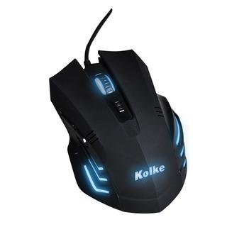 Mouse Gamer Kolke Zetta 2000 Dpi 6 Botones Macros Luz Pro