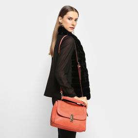 Bolsa Davinci Flap Bag Feminina Dv-01389 - Laranja