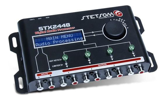 Processador De Áudio Automotivo Digital Stx2448 Stetsom