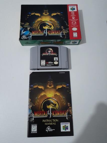 Mortal Kombat 4 Para Nintendo 64
