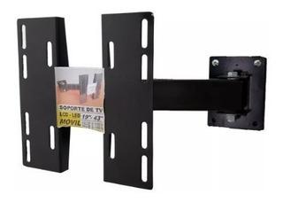 Soporte Movil 19 -43 Simple Brazo Tv Lcd Smart Led