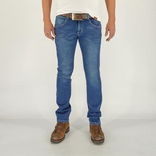 Imagen 1 de 6 de Jeans Vaquero Wrangler Hombre Skinny G44