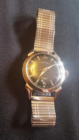 Reloj De Pulsera Vintage Nivada Acuamatic