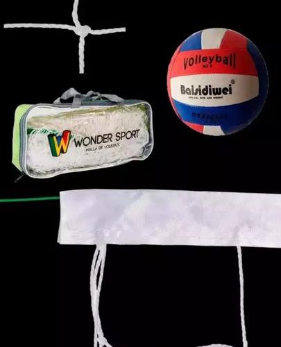 Malla Y Balón De Voleibol Envío Gratis