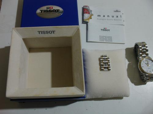 = Relogio De Pulso Tissot Loastar Original Completo Dono