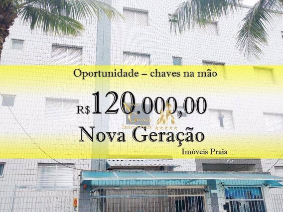 Kitnet Residencial À Venda, Vila Mirim, Praia Grande. - Kn0036