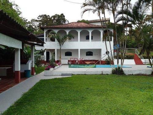 Chácara Com 2 Dormitórios À Venda, 2200 M² Por R$ 825.000 - São Bento - Arujá/sp - Ch0715