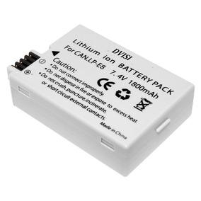 Bateria Para Canon Lp-e8 Compatível Com Muitas Cam