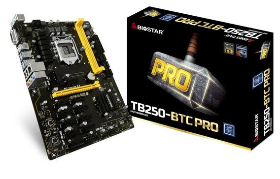 Tarjeta Madre Biostar Tb250-btc Pro Lga 1151 Ddr4 - Nueva