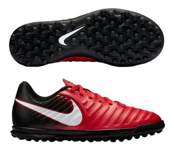 Botines Nike Tiempox Rio Iv Tf Jr 897736 616,