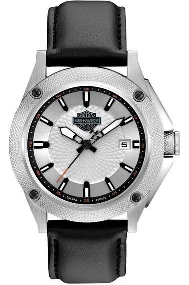 Relógio Bulova Masculino Ref: Wh30377q Harley Davidson