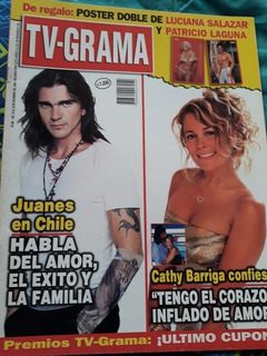 Revista Tv-grama N° 995 Juanes / Cathy Barriga