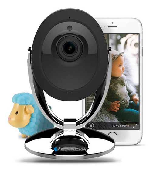 Baby Call Monitor Infantil Camara Bebe Seguridad Ip Wifi Inalambrica Celular Ir Vstarcam + Cuotas