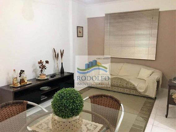 Guarujá Pitangueiras! 1 Dormitório , Baixo Custo Mensal A 200 Metros Da Praia Ótima Localização. - Ap0776