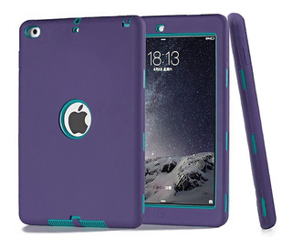 Funda iPad Mini 1 2 3 4 Uso Rudo Contra Golpes Silicon