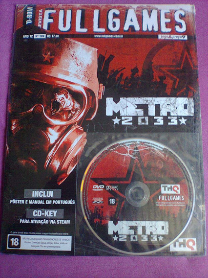 Metro 2033 ( Game Pc ) Fullgames - Lacrado!