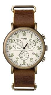 Reloj Hombre Timex Tw2p85300 Cuero Sport | Envio Oficial