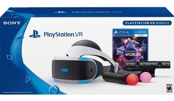 Playstation Vr Worlds Bundle Ps4