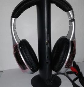 Fone De Ouvido Wifi S/ Fio Kolke+adaptador 2 Saídas De Som