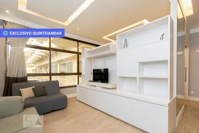 Apartamento No 2º Andar Mobiliado Com 1 Dormitório E 1 Garagem - Id: 892850613 - 150613
