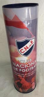 Lata Futbol Club Nac. Montevideo - Vacía - Unica !!!!
