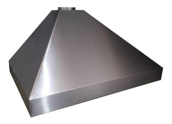 Campana Cocina Industrial-comercial De 1,50 Mts X 70 Cm