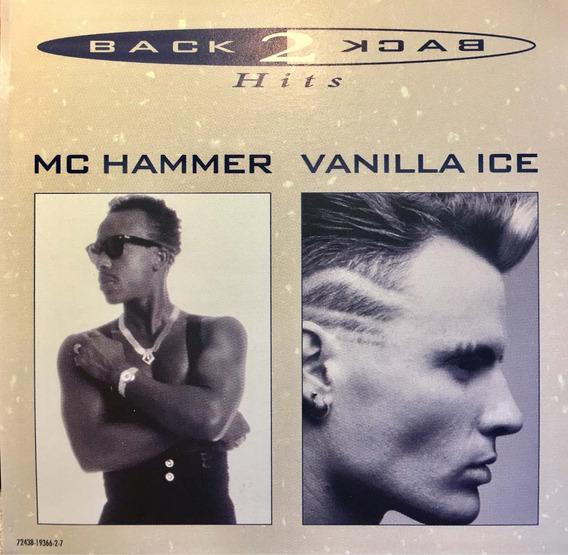 Cd Mc Hammer Vanilla Ice Back 2 Back Hits