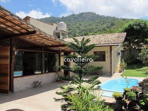 Casa Com Piscina Em Condomínio - Itaipuaçu - Ca1685