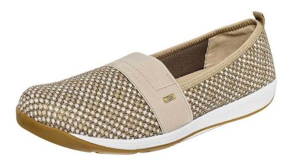 Zapato Sneaker Dama Flexi 28305 Beige 22-27 Urbano 083-532 T4