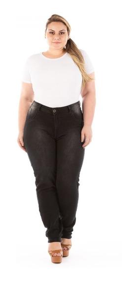 Calça Jeans Feminina Denin Legging Plus Size Caj221