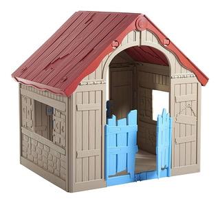 Casita De Juegos Keter Casa Plegable Castillo Infantil Niños