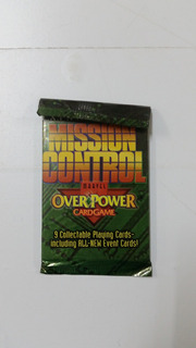 Card Game Over Power Mission Control Booster