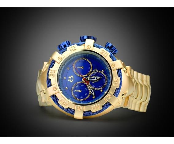 Relógio Masculino Grande Original Orizom + Caixa + Garantia