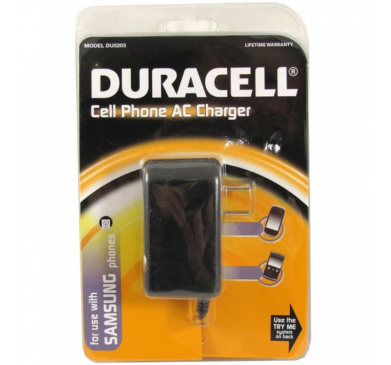Cargador Duracell Du5203 Charger For Samsung Cell Phones