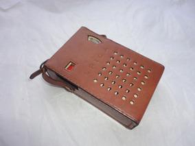 Radio Six Transistor Spica St-6h Portatil + Capa Couro