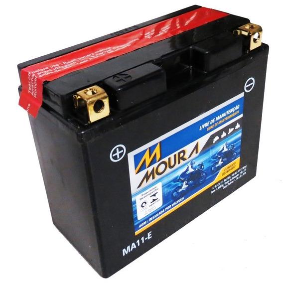 Bateria Moto Ma11-e Moura 11ah Ducati Monster 696 796 S2r